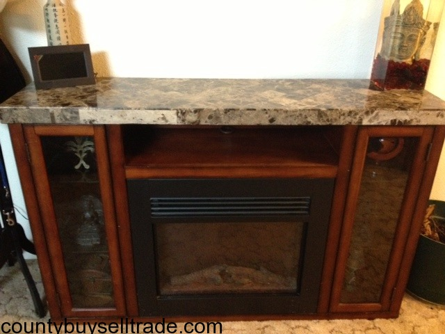 Electric Fireplace Hutch in Mcminville, Yamhill, Oregon - County ...